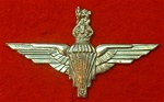 PARA Beret Badge ( Parachute Regiment Metal Beret Badge ) Kings Crown