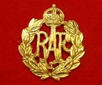 RAF Kings Crown Side hat Badge