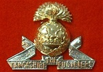 The Lancashire Fusiliers Metal Cap Badge