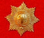 Coldstream Guards Metal Cap Badge ( CG Beret badge )