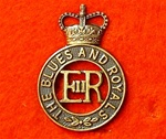 Blues and Royals Cap Badge ( RHG/D Metal Cap Badge )