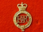 The Household Cavalry Regiment Cap Badge ( HCR HCMR ER 11 Hat Badge )