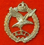 Army Air Corps Metal Cap Badge ( AAC Cap Badge )