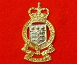 Royal Army ordnance corps ER II Cap Badge
