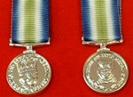 Falklands Miniature Medal