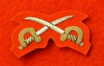 Mess Dress Crossed Swords ( Physical Training Instructor Mess Dress Badge )