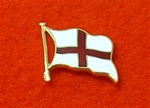 Flag Of St George Lapel Badge