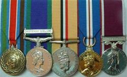 Example of Court Mounted Group of medals
