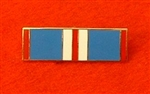 Enamel Queens Golden Jubilee Medal Ribbon Bar Pin Type