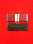 Police Body Armour Ribbon Bar Queens Diamond Jubilee Hook and Loop Type