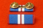 Golden Jubilee Medal Ribbon Bar Stud Type