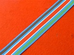 Full SIze United Nations Bosnia Medal ribbon ( UNPROFOR Bosnia Medal Ribbon )