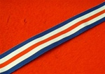 Full Size France & Germany Star Medal Ribbon