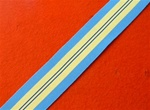 Full Size United Nations Suez 1973 Medal Ribbon