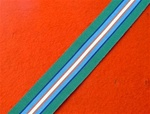 Full Size United Nations Cambodia Medal Ribbon UN Cambodia UNTAC
