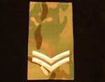 Quality Ivory CPL Muticam Rank Slide ( Corporal Multi Terrain Pattern Combat Rank Slide ) LCPL MTP Rank Slide