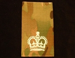 Quality Ivory WO2 Muticam Rank Slide ( Warrant Officer Class 2 Multi Terrain Pattern Combat Rank Slide ) WO2 MTP Rank Slide