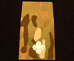 Quality Ivory Second Lieutenant  Muticam Rank Slide ( 2nd Lieutenant Multi Terrain Pattern