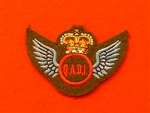 Q.A.D. I Instructor Wings ( Air Dispatch Qualification Wings ) Uniform Badge.