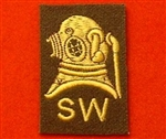 Uniform Army Shallow Diver Badge SD Badge