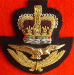 RAF Officers Cap Badge