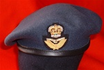 High Quality RAF Officers Beret + Officers Beret Badge