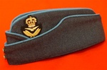 RAF Group Captain Forage Cap ( RAF GC Chip Hat ) RAF Senior Officers Side Cap