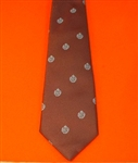 Quality Royal Air Force Tie ( RAF Maroon Crest Motif Tie ) RAF Tie