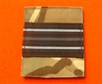 Quality UBACS RAF Officers Flight Lieutenant Velcroed Rank Patch ( Flt Lt Velcroed Rank Patch )