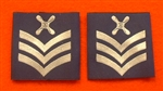 Official RAF Chief Technician Shoulder Slides x 2 ( RAF Chf Tech Blue Shoulder Slides )