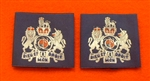 Official RAF Warrant Officer Shoulder Slides x 2 ( RAF Warrant Officer Blue Shoulder Slides )