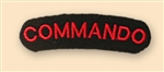 Commando Shoulder Titles ( Commando Uniform Badges )