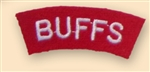 Buffs Uniform Shoulder Titles ( Re-Enactors Badges )