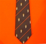 REME  Regimental Tie with Motif ( Royal Electrical & Mechanical Engineers )
