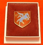 Quality Pegasus Boxed Lapel Badge ( Pegasus Boxed Lapel Badge )