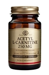 Solgar Acetyl-L-Carnitine 250 mg Vegetable Capsules 30
