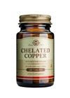 Solgar Chelated Copper Tablets 100
