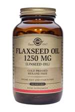 Solgar Cold Pressed Flaxseed Oil 1250 mg Softgels 100