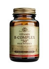 "Solgar Vitamin B-Complex ""50"" Vegetable Capsules 50"