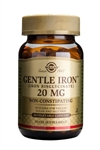 Solgar Gentle Iron(TM) 20 mg Vegetable Capsules 90