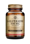 Solgar L-Glutamine 500 mg Vegetable Capsules 50
