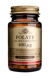 Solgar Folate 400 µg (as Metafolin(R)) Tablets 50