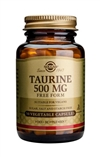 Solgar Taurine 500 mg Vegetable Capsules 50