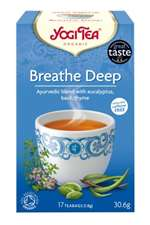 YOGI ORGANIC BREATHE DEEP TEA 17 BAGS 30.6G