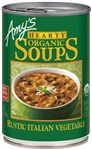 AMYS HEARTY RUSTIC ITALIAN VEGETABLE SOUP