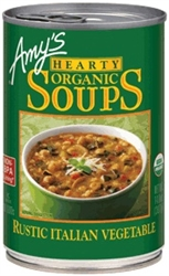 Amys Hearty Rustic Italian Vegetable Soup 397G
