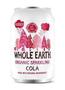 Whole Earth Organic Sparkling Cola 330ml