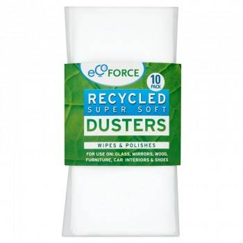 EcoForce Recycled Super Soft Dusters 10 Pack