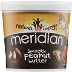 Meridian Peanut Butter Smooth No Salt 100% Nuts 1Kg