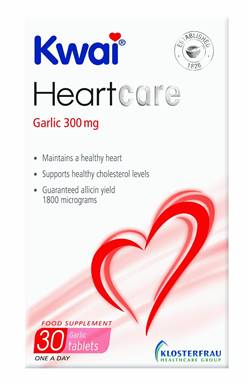 Kwai Heartcare One A Day Garlic 30 Tabs